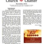 November 2014 Chatter